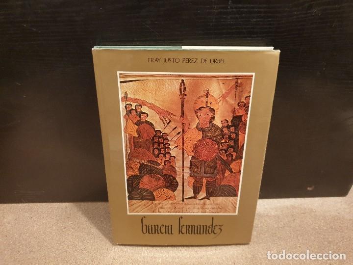 EL BUEN CONDE GARCIA FERNANDEZ........FRAY JUSTO PÉREZ DE URBEL.....1976..... (Libros de Segunda Mano - Historia - Otros)