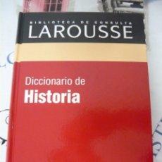 Libros de segunda mano: DICCIONARIO DE HISTORIA LAROUSSE. Lote 174387343
