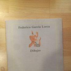 Libros de segunda mano: 'DIBUJOS'. FEDERICO GARCÍA LORCA. BARCELONA, 1986. Lote 174392882