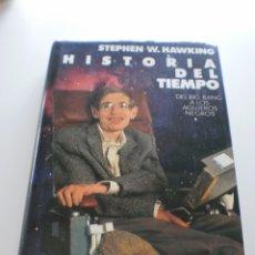 Libros de segunda mano: HISTORIA DEL TIEMPO. Lote 174431665