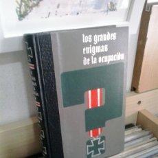 Libros de segunda mano: LMV - LOS GRANDES ENIGMAS DE LA OCUPACIÓN, TOMO 1. Lote 174441874