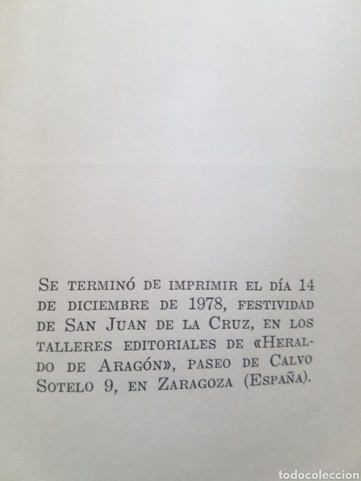 Libros de segunda mano: Libro Ramón J. Sender Solanar y Lucernario Aragonés Ediciones de Heraldo Aragon Zaragoza 1978 - Foto 3 - 174445133