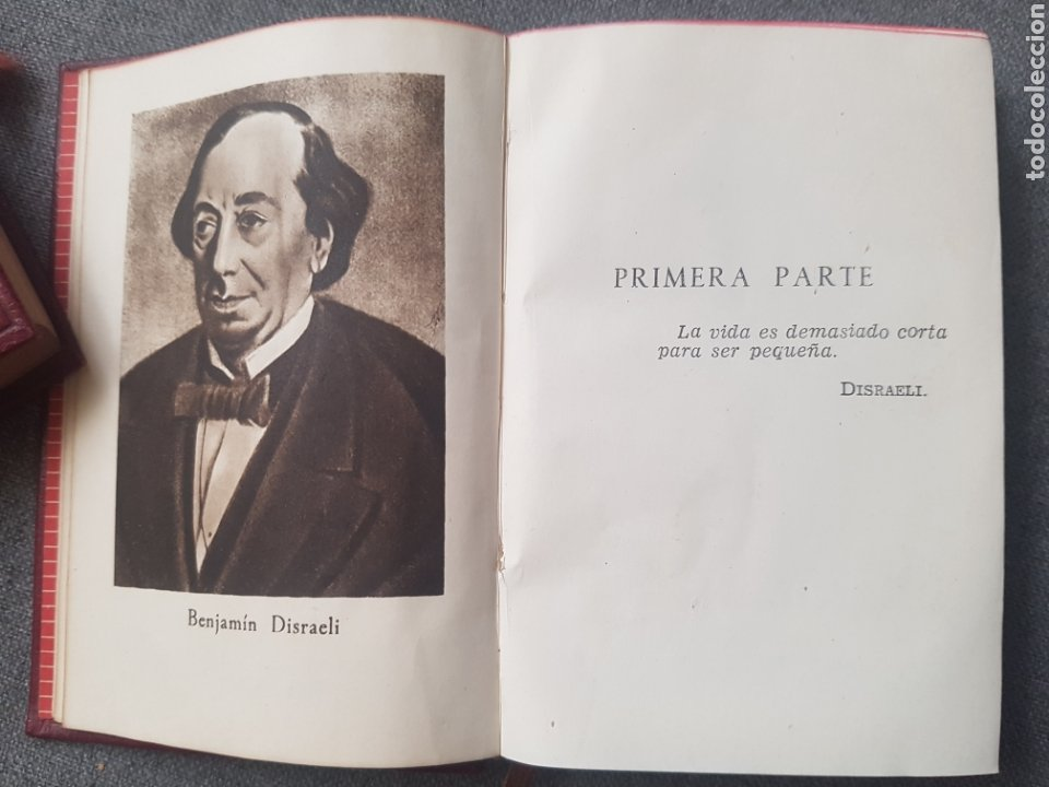 Libros de segunda mano: Libro André Maurois Disraeli 1944 Editor Aguilar. Con hoja con la lista de Colección crisol. - Foto 4 - 174445942
