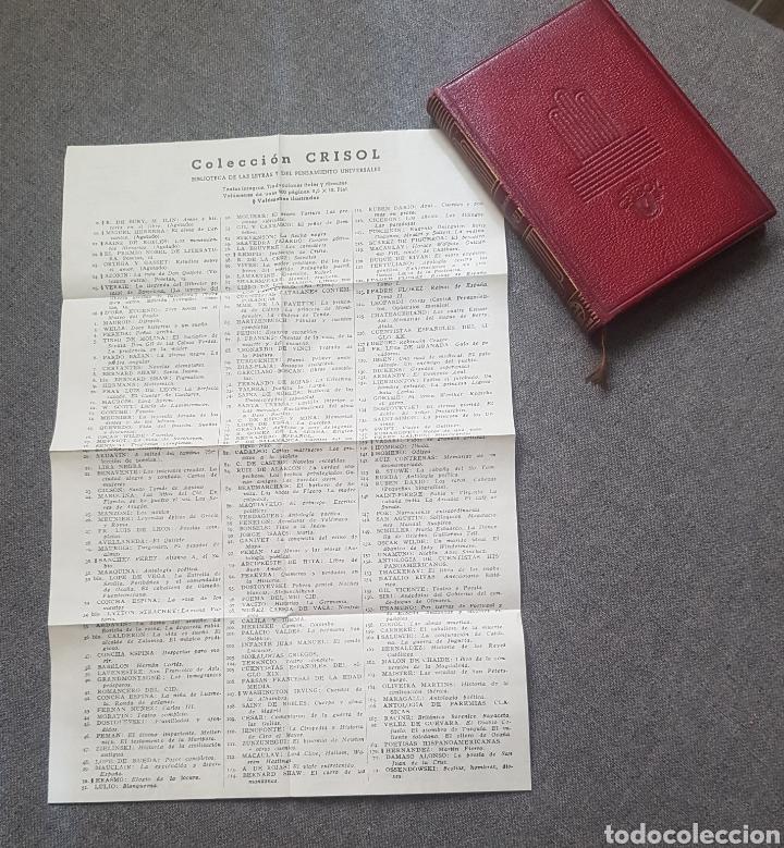 LIBRO ANDRÉ MAUROIS DISRAELI 1944 EDITOR AGUILAR. CON HOJA CON LA LISTA DE COLECCIÓN CRISOL. (Libros de Segunda Mano (posteriores a 1936) - Literatura - Otros)