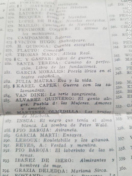 Libros de segunda mano: Libro André Maurois Disraeli 1944 Editor Aguilar. Con hoja con la lista de Colección crisol. - Foto 9 - 174445942
