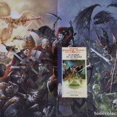 Libros de segunda mano: COLECCION ADVANCED DUNGEONS DRAGONS-N15 EL BOSQUE DE LAS BRUMAS-LIBROJUEGO TIMUN MAS. Lote 174458045