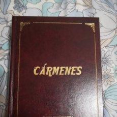Libros de segunda mano: CÁRMENES. POR MANUEL FERNÁNDEZ MOTA. AÑO 2007. Lote 174466500