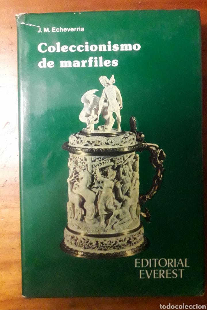 LIBRO COLECCIONISMO DE MARFILES EVEREST (Libros de Segunda Mano - Bellas artes, ocio y coleccionismo - Otros)