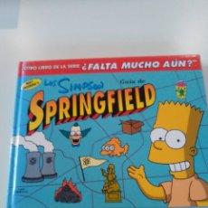 Libros de segunda mano: LOS SIMPSON GUIA DE SPRINGFIELD ( 1999 EDICIONES B ) 130 PAGINAS BUEN ESTADO. Lote 174486383