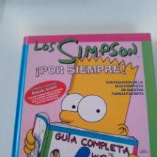 Libros de segunda mano: LOS SIMPSON POR SIEMPRE ( 2000 EDICIONES B ) 100 PAGINAS MUY BUEN ESTADO. Lote 174486454