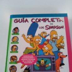 Libros de segunda mano: GUIA COMPLETA DE LOS SIMPSON ( 1999 EDICIONES B ) 250 PAGINAS MUY BUEN ESTADO. Lote 174486708