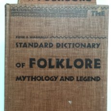 Libros de segunda mano: FUNK & WAGNALLS STANDARD DICTIONARY OF FOLKLORE, MYTHOLOGIE AND LEGEND. 1949. Lote 174516705