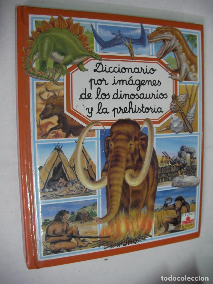 DICCIONARIO POR IMAGENES DE LOS DINOSAURIOS Y LA PREHISTORIA (Libros de Segunda Mano - Literatura Infantil y Juvenil - Otros)