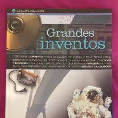 Libros de segunda mano: LA LLAVE DEL SABER: GRANDES INVENTOS, DE ALTEA. Lote 174523723