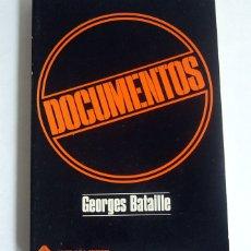 Libros de segunda mano: DOCUMENTOS - ENSAYOS - GEOGES BATAILLE - MONTE AVILA EDITORES. VENEZUELA. Lote 174535920