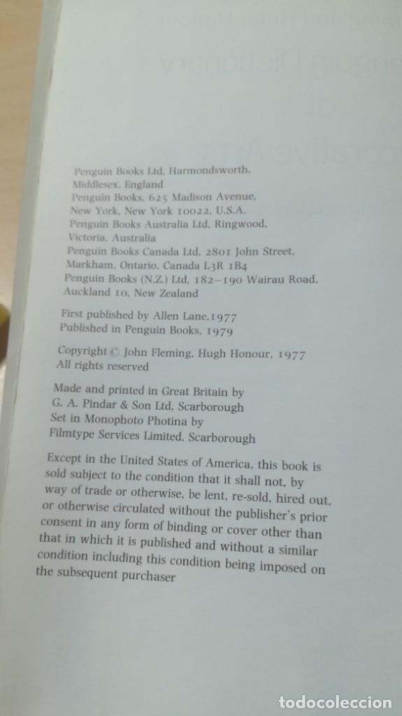 Libros de segunda mano: THE PENGUIN DICTIONARY OF DECORATIVE ARTS EN INGLES - / TEXTO 35 / ARTE OTROS - Foto 6 - 174536055