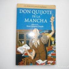 Libros de segunda mano: MIGUEL DE CERVANTES DON QUIJOTE DE LA MANCHA Y95731. Lote 174567987