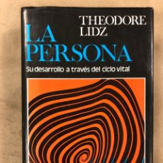 Libros de segunda mano: LA PERSONA, SU DESARROLLO A TRAVÉS DEL CICLO VITAL. THEODORE LIDZ. EDITORIAL HERDER 1973. Lote 174570635