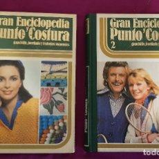 Libros de segunda mano: GRAN ENCICLOPEDIA PUNTO Y COSTURA, 2 TOMOS. Lote 174602343
