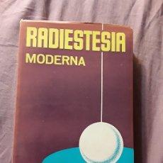 Libros de segunda mano: RADIESTESIA MODERNA, DE A. LUZY. ÚNICO EN TC. MUNDI-PRENSA, 1976.. Lote 174638295