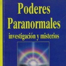 Libros de segunda mano: PODERES PARANORMALES. INVESTIGACIÓN Y MISTERIOS POR RYZL, HOFFMAN, GITTELSON Y ROGO. Lote 174711528
