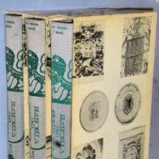 Libros de segunda mano: ESCUDOS DE VIZCAYA. V .- LAS ENCARTACIONES (VOLÚMENES I, II Y III). Lote 174811392