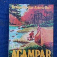 Libros de segunda mano: ACAMPAR MANUAL PRACTICO. Lote 174864879