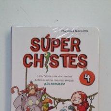 Libros de segunda mano: SÚPER CHISTES. Nº 4. LOS ANIMALES. - PAU CLUA Y ÁLEX LÓPEZ. TDK413. Lote 174913447