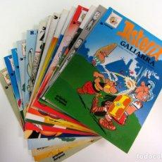 Libros de segunda mano: LOTE 14 LIBROS DE ASTERIX EN EUSKERA. GRIJALBO/DARGAUD. Lote 174942335