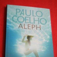 Libros de segunda mano: ALEPH, DE PAULO COELHO - ED.PROA 2A.ED. 2011 (EN CATALAN) - CON DEDICATORIA DEL AUTOR. Lote 174954095
