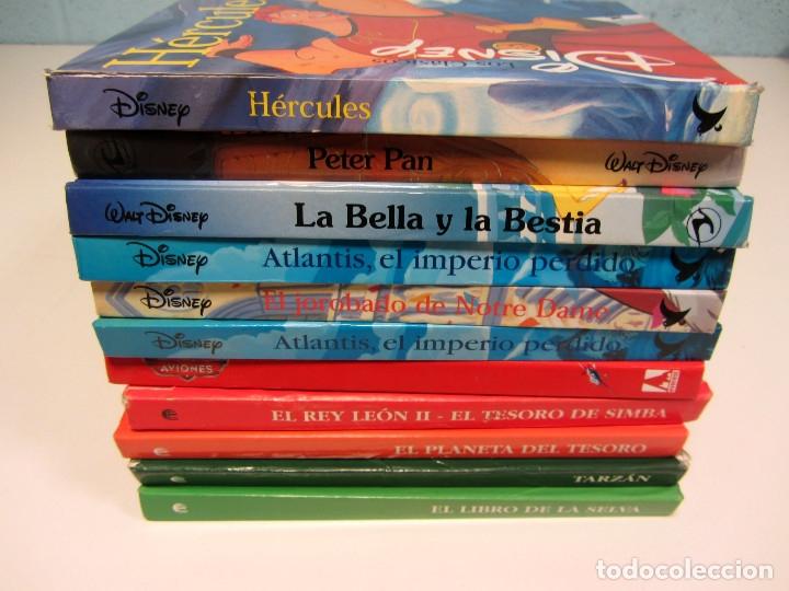 LOTE DE 11 LIBROS CLÁSICOS DE DISNEY. VARIAS EDITORIALES GAVIOTA, CÍRCULO DE LECTORES Y EVEREST. (Libros de Segunda Mano - Literatura Infantil y Juvenil - Otros)