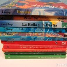 Libros de segunda mano: LOTE DE 11 LIBROS CLÁSICOS DE DISNEY. VARIAS EDITORIALES GAVIOTA, CÍRCULO DE LECTORES Y EVEREST.. Lote 174971663
