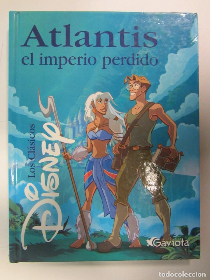 Libros de segunda mano: Lote de 11 libros Clásicos de Disney. Varias Editoriales Gaviota, Círculo de lectores y Everest. - Foto 6 - 174971663