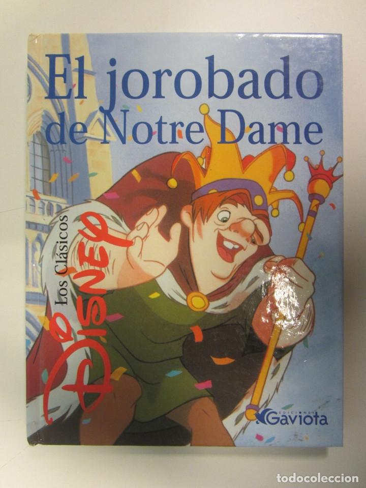 Libros de segunda mano: Lote de 11 libros Clásicos de Disney. Varias Editoriales Gaviota, Círculo de lectores y Everest. - Foto 7 - 174971663
