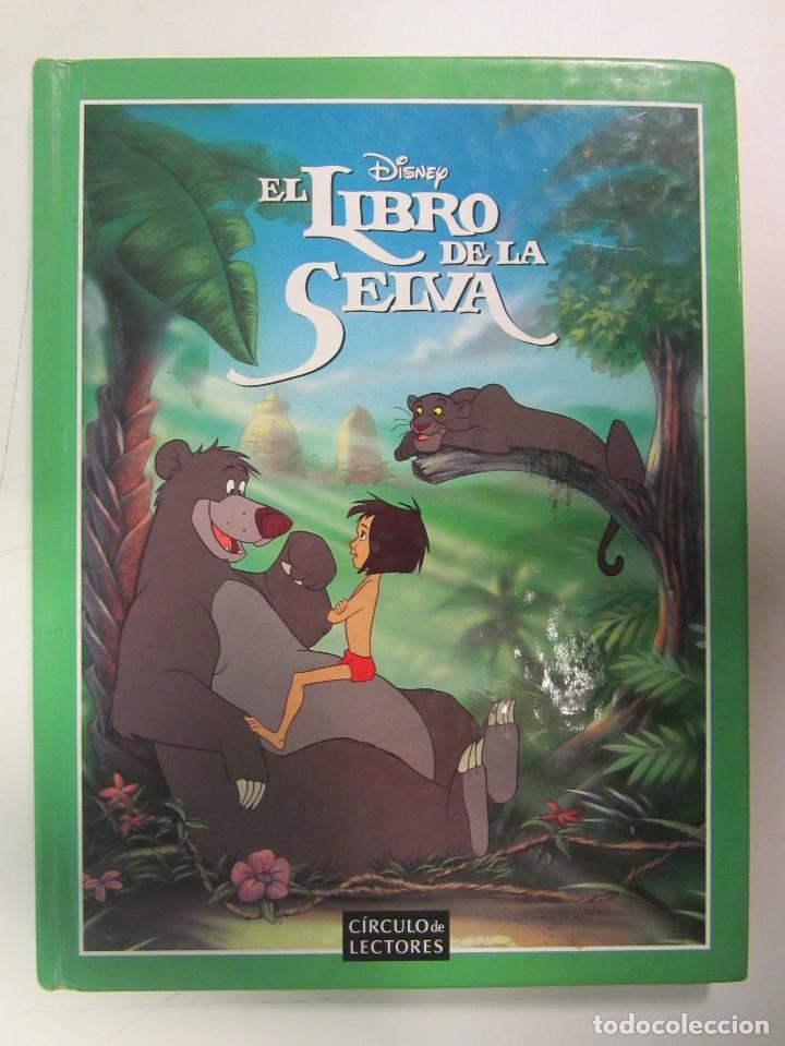 Libros de segunda mano: Lote de 11 libros Clásicos de Disney. Varias Editoriales Gaviota, Círculo de lectores y Everest. - Foto 13 - 174971663