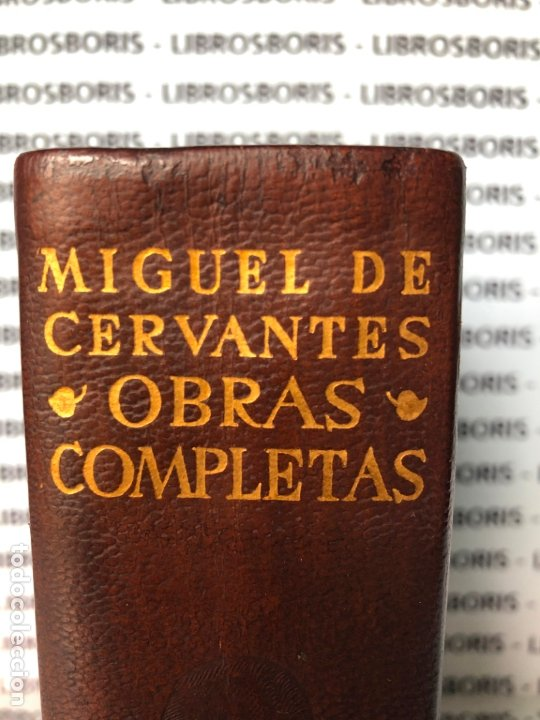 Libros de segunda mano: MIGUEL DE CERVANTES - OBRAS COMPLETAS - AGUILAR - OBRAS ETERNAS - Foto 2 - 174982187