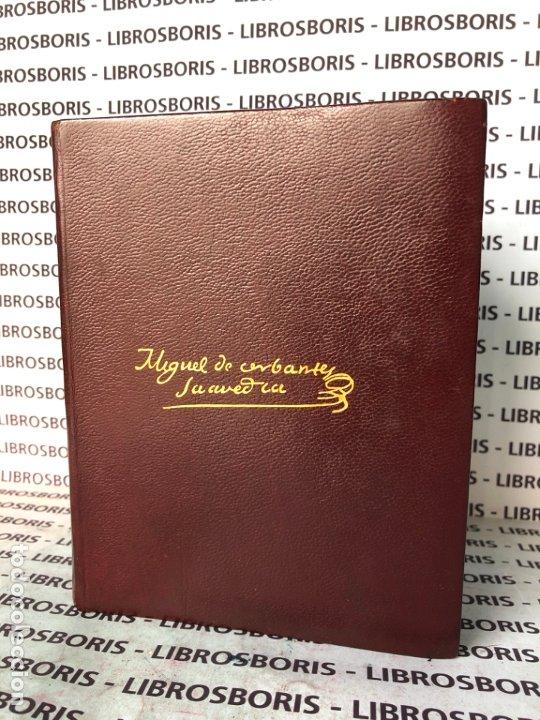 Libros de segunda mano: MIGUEL DE CERVANTES - OBRAS COMPLETAS - AGUILAR - OBRAS ETERNAS - Foto 3 - 174982187
