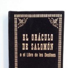 Libros de segunda mano: EL ORACULO DE SALOMON. RADETZKI. EDITORIAL HUMANITAS. TDK414. Lote 175003570