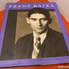 Libros de segunda mano: FRANZ KAFKA, IMAGENES DE SU VIDA, MUY ILUSTRADO. 241PAGS, MIDE 25X22CM. Lote 175025834