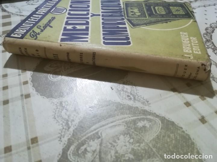 Libros de segunda mano: Mediciones y comprobaciones. Biblioteca práctica de radio VIII - A. Lagoma - 1971 - Foto 5 - 175026120