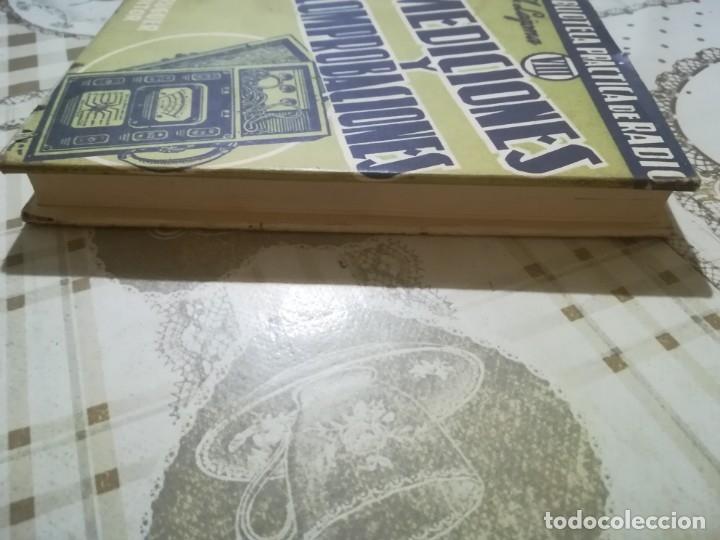 Libros de segunda mano: Mediciones y comprobaciones. Biblioteca práctica de radio VIII - A. Lagoma - 1971 - Foto 7 - 175026120