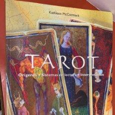 Libros de segunda mano: TAROT, ORIGENES, LECTURA, INTERPRETACION. MUY ILUSTRADO. 144PAGS, MIDE 28X22CM. Lote 175026637