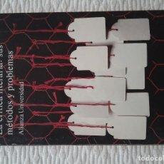 Libros de segunda mano: LA CRCRÍTICA LITERARIA: SUS MÉTODOS Y PROBLEMAS. ANDERSON IMBERT. ALIANZA UNIVERSIDAD.. Lote 175030023