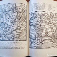 Libros de segunda mano: VIRGILIO, ENEIDA, EDICIÓN DEL S. XVI, ¡CASI 140 GRABADOS!. Lote 175030300
