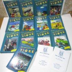 Libros de segunda mano: UN CASO PARA TI Y EL EQUIPO TIGRE, LOTE 13 LIBROS, THOMAS BREZINA, SM 1997. Lote 175069129
