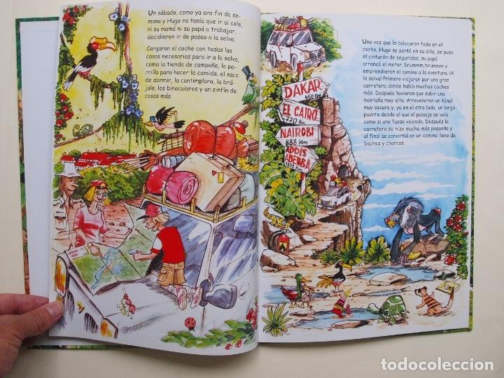 Libros de segunda mano: Hugo y el rey mono - Jorge Rodríguez / Tulio Laviste - Pila Teleña. Madrid, 2009 - Foto 4 - 175089404