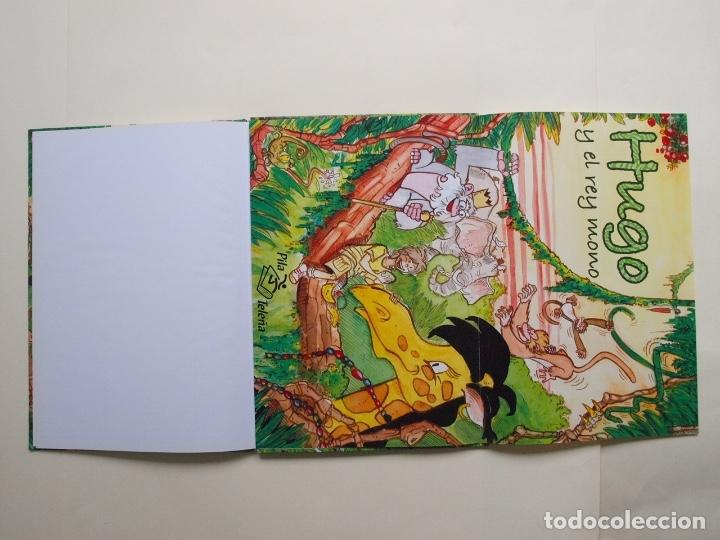 Libros de segunda mano: Hugo y el rey mono - Jorge Rodríguez / Tulio Laviste - Pila Teleña. Madrid, 2009 - Foto 5 - 175089404