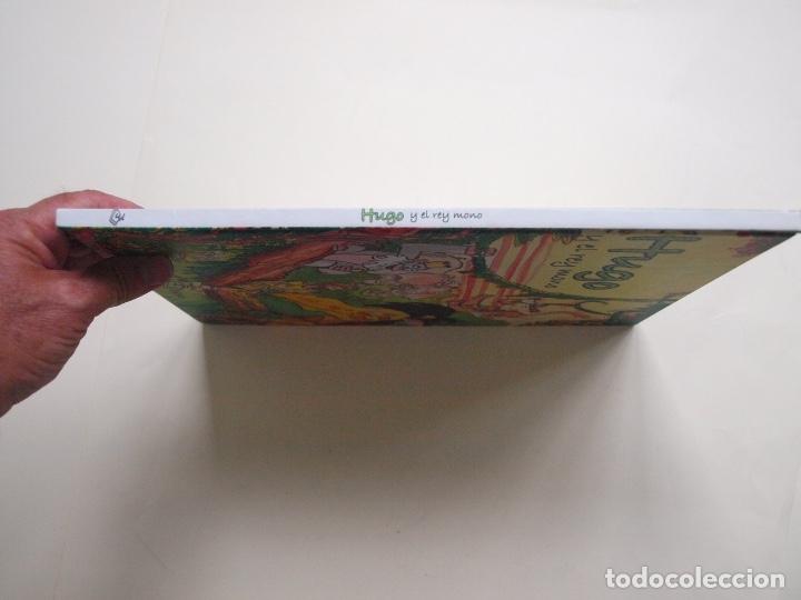 Libros de segunda mano: Hugo y el rey mono - Jorge Rodríguez / Tulio Laviste - Pila Teleña. Madrid, 2009 - Foto 8 - 175089404
