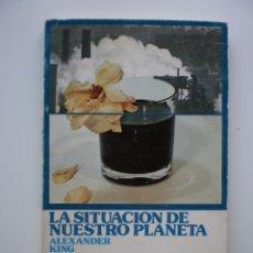 Libros de segunda mano: LA SITUACION DE NUESTRO PLANETA. Lote 175093239