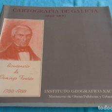 Libros de segunda mano: CARTOGRAFIA DE GALICIA 1522-1900. Lote 175109340